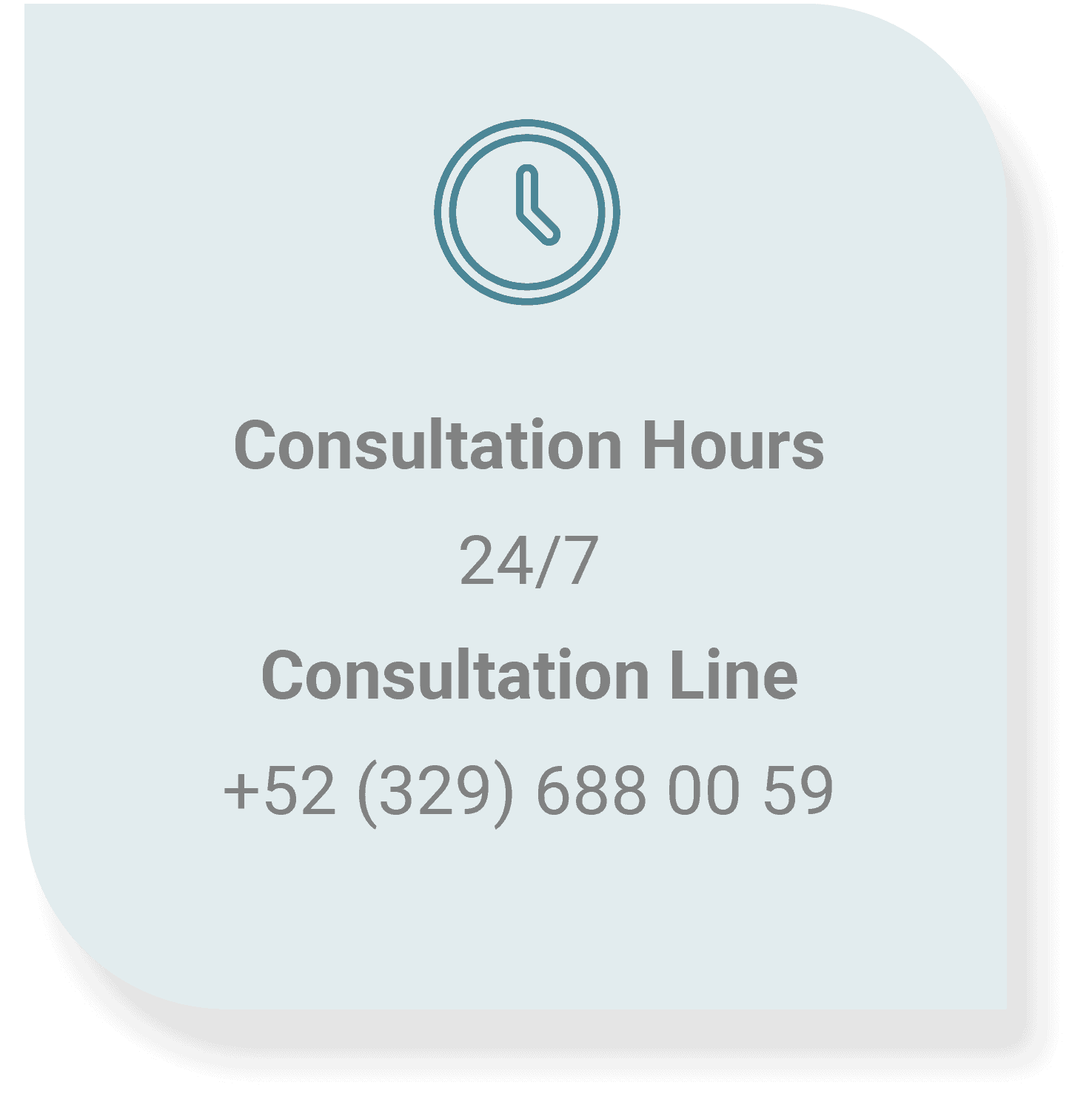 Consultation Hours
